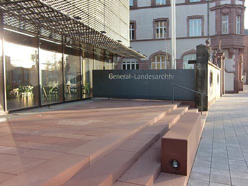 Erweiterungsbau Generallandesarchiv, Karlsruhe 1
