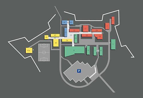 Masterplanung Campus Landau, Lageplan Leitkonzept