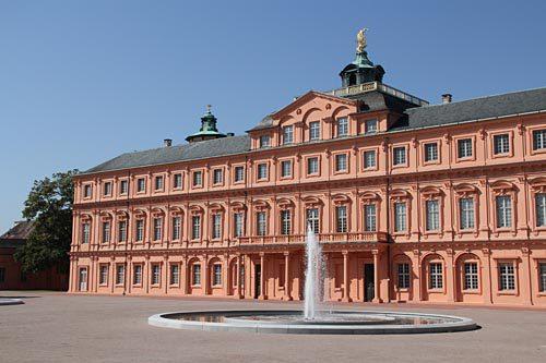 Schlossterrasse Schloss Rastatt 1