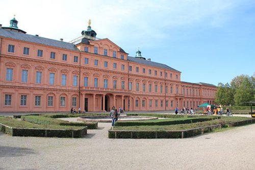Schlossterrasse Schloss Rastatt 10