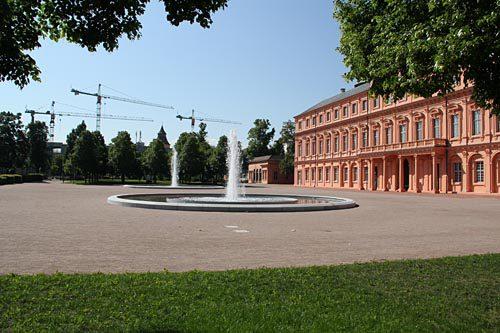 Schlossterrasse Schloss Rastatt 4