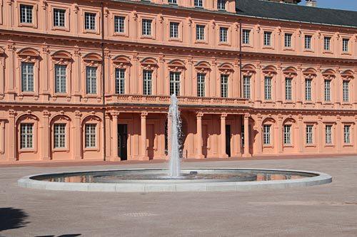 Schlossterrasse Schloss Rastatt 6