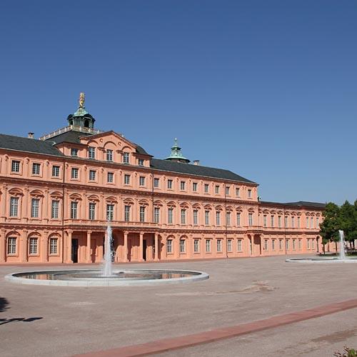 Schlossterrasse Schloss Rastatt 7