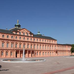 Schlossterrasse Schloss Rastatt