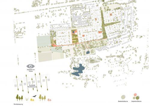 3. Preis beim städtebaulichen freiraumplanerischen Wettbewerb für das Baugebiet Längelter der Stadt Heilbronn