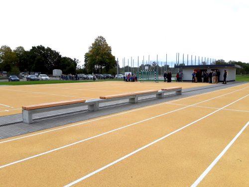 Offizielle Eröffnung der Schulsportanlage in Ottersdorf