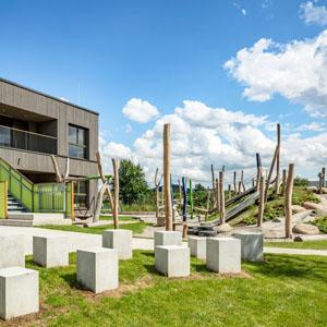 Neubau Kindertagesstätte an der Sparkassenallee in Bensheim