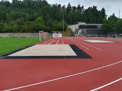 Laufbahnsanierung Sportanlage Bühlertal